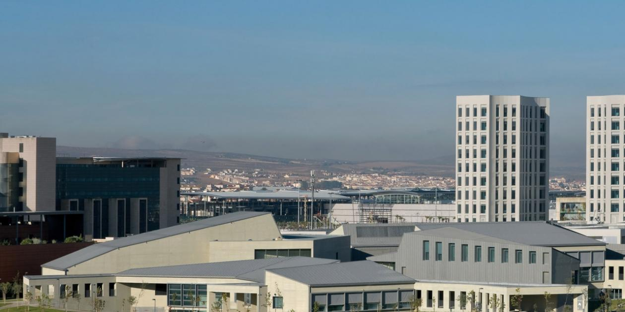Edificio Central del Campus de Ciencias de la Salud de la Universidad de Granada