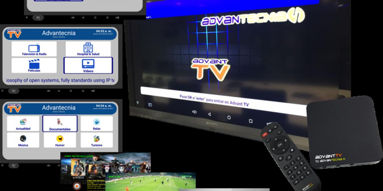 ADVANTECNIA-AdvantTV, Sistema de Entretenimiento para su centro sociosanitario