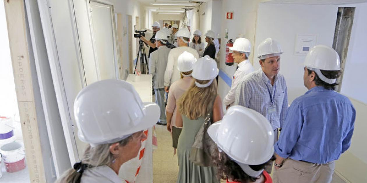 Remodelación del hospital de Jerez