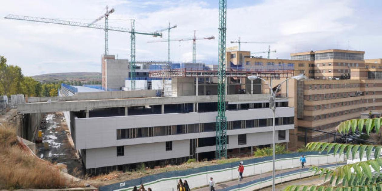 El nuevo Hospital de Salamanca se pondrá en funcionamiento este año