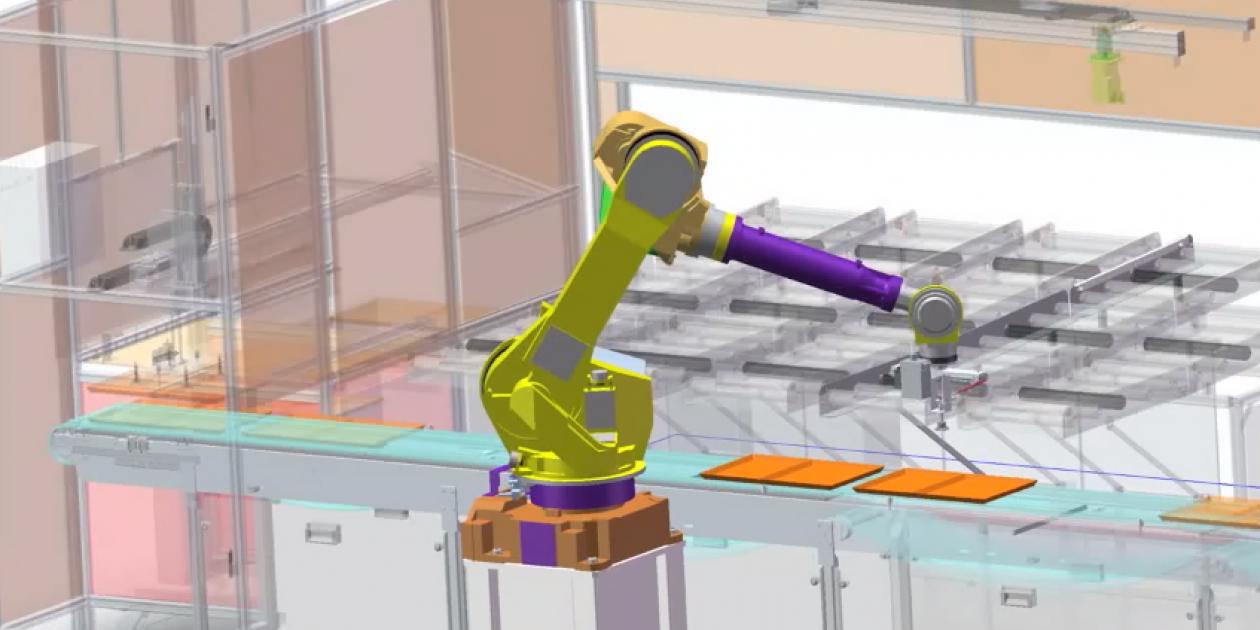 SANTOS GRUPO - Un camarero robot en el hospital