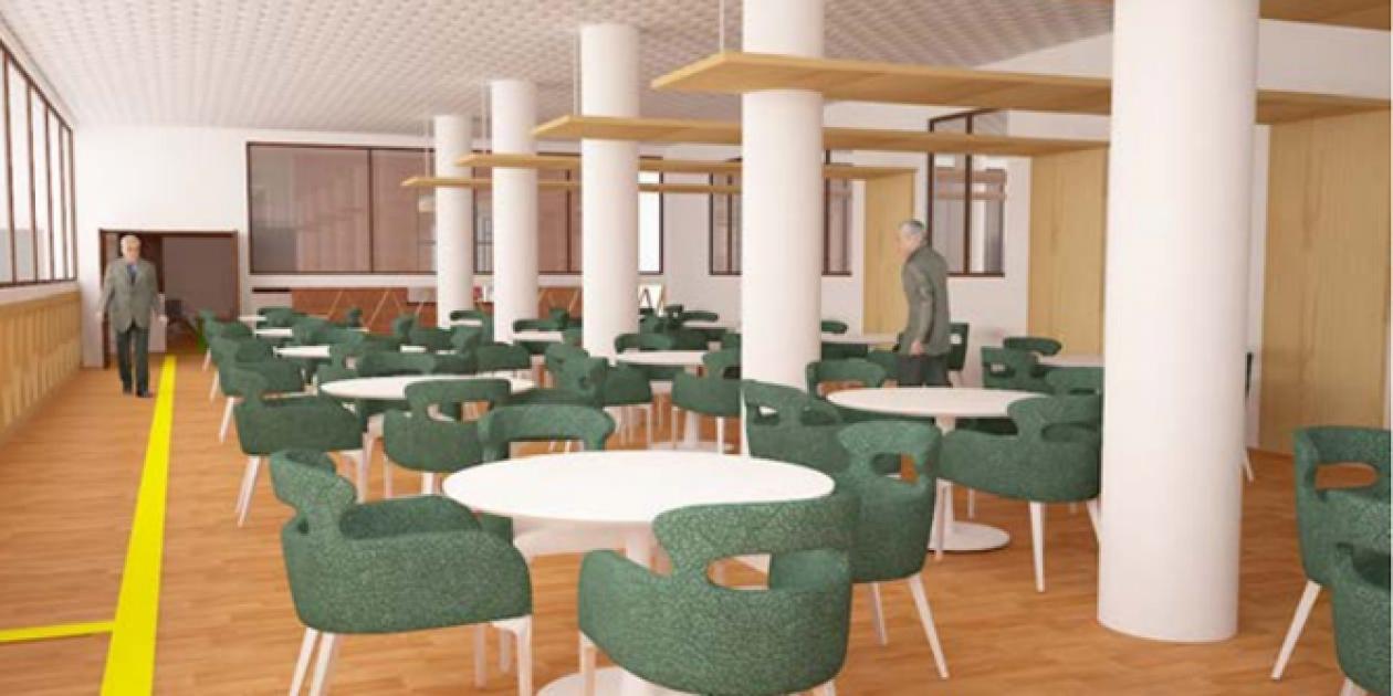 """Diseño interior para la """"movilidad"""" en centros geriátricos"""