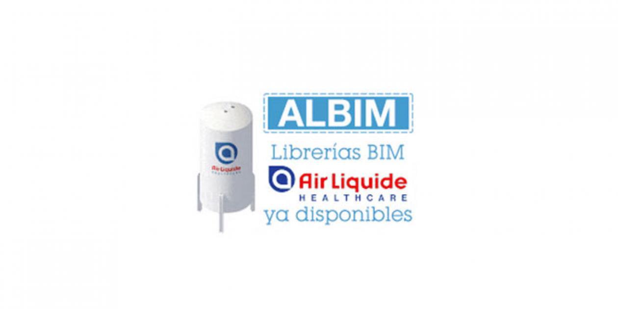 Catálogo BIM de Air Liquide Healthcare