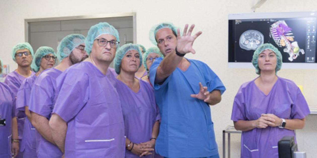El Hospital de Bellvitge inaugura un bloque quirúrgico de última generación