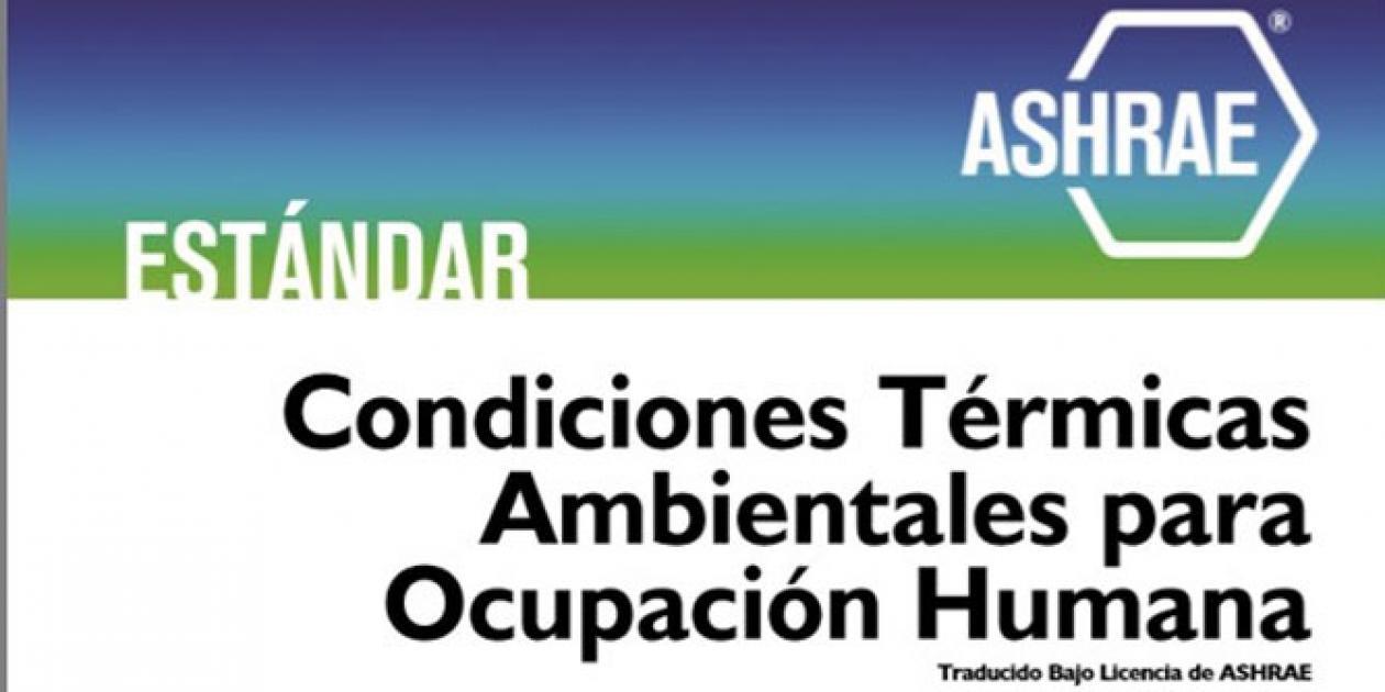 Condiciones térmicas ambientales para ocupación humana