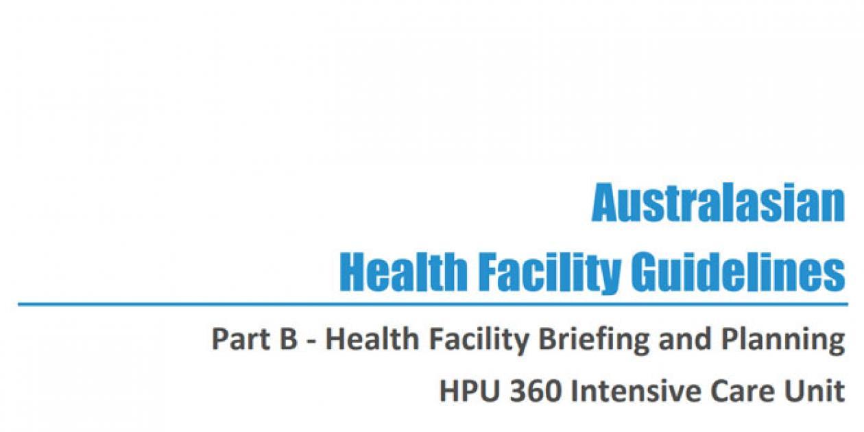 Guía para infraestructuras sanitarias: diseño y planificación de la UCI