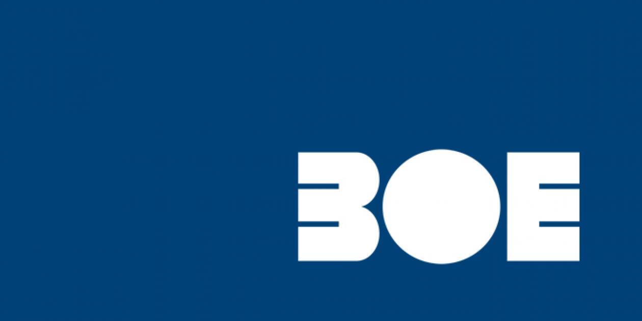 BOE nº 258 sobre reglamentación técnica para las redes telefónicas públicas