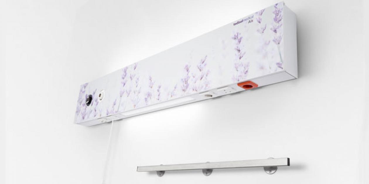 Cabeceros para habitaciones humanas de Air Liquide Healthcare