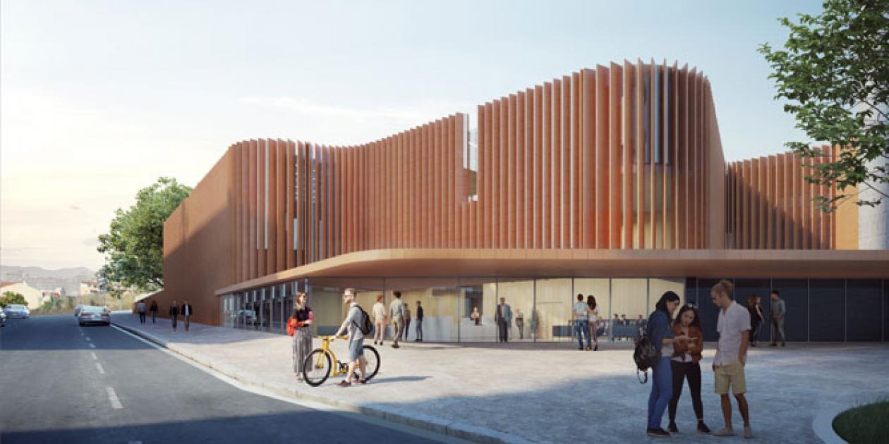 Presentación del futuro centro de radioterapia en el Hospital de Granollers