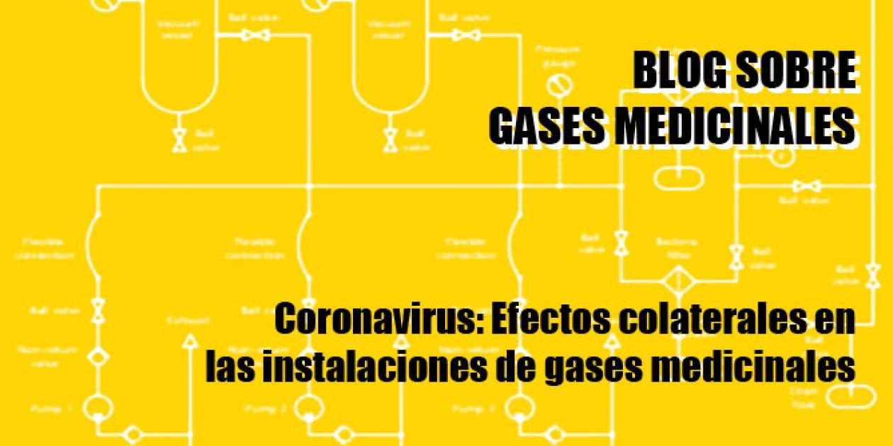 Coronavirus: Efectos colaterales en las instalaciones de gases medicinales