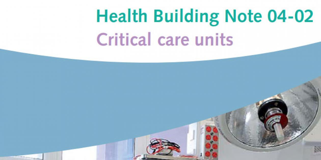 Guía edificios sanitarios: Unidad de Cuidados Intensivos