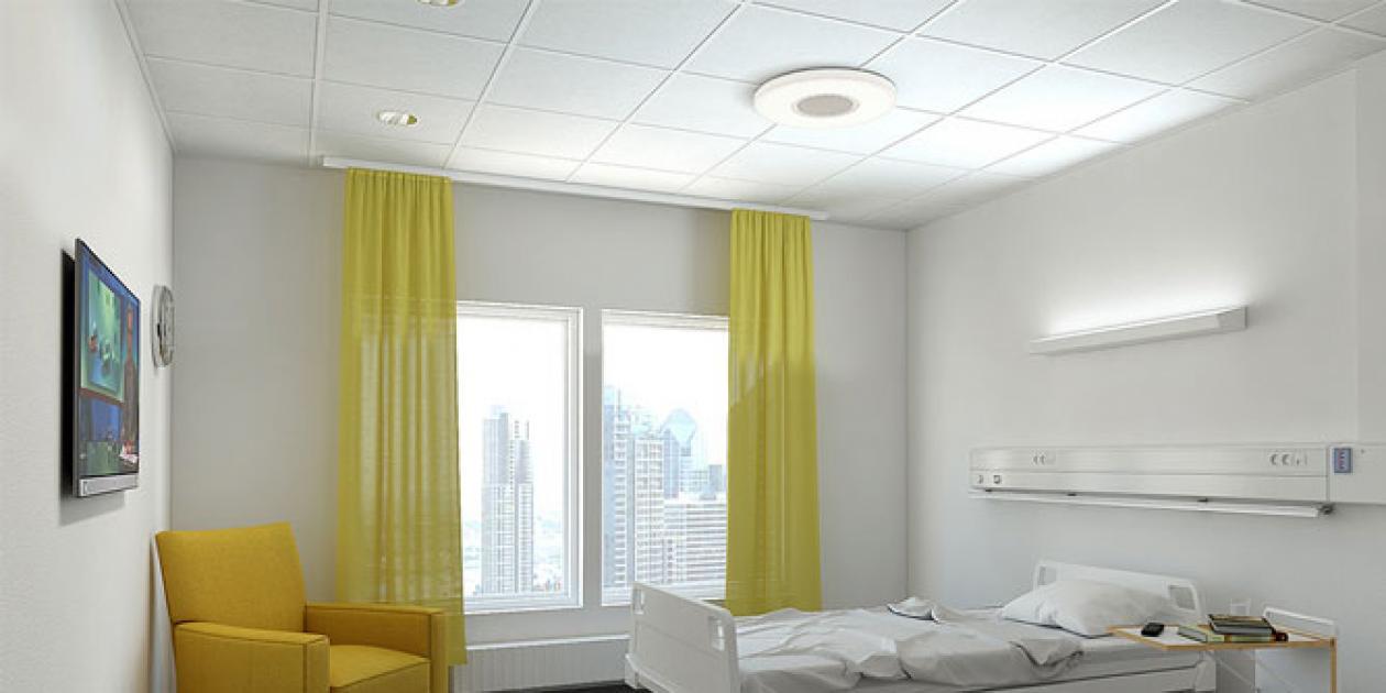 Iluminación de hospitales: habitaciones y box