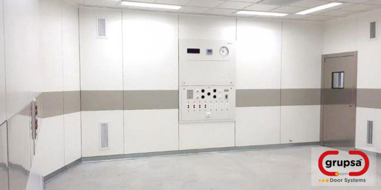 Sistema Modular para Quirófanos, UCI y Salas Blancas de Grupsa