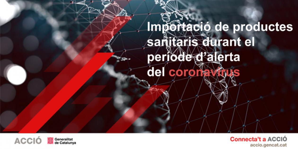 Guía para importar productos sanitarios durante el periodo de alerta COVID-19