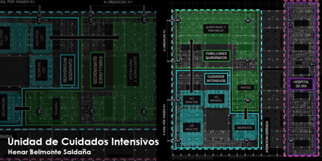 Reflexiones acerca del diseño arquitectónico de UCIs: análisis, diagnóstico y propuesta de un caso práctico