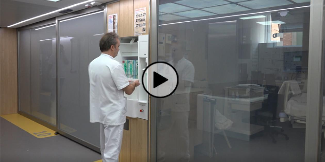 Higiene avanzada de manos en la UCI del Hospital Clínic