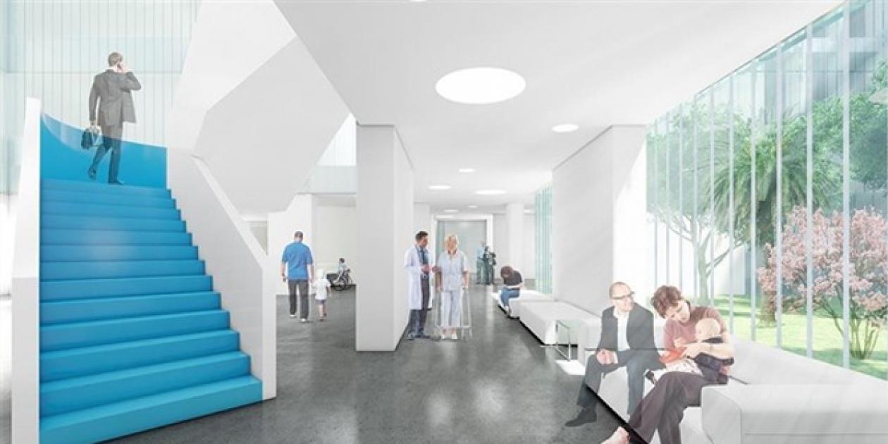 El Hospital Materno-Infantil de Almería terminará las obras en agosto