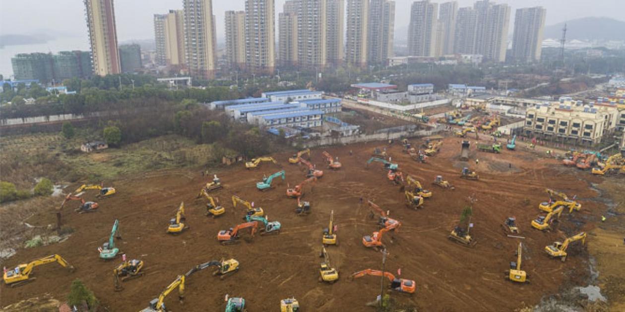 Wuhan aspira a construir un nuevo hospital para el coronavirus en 10 días