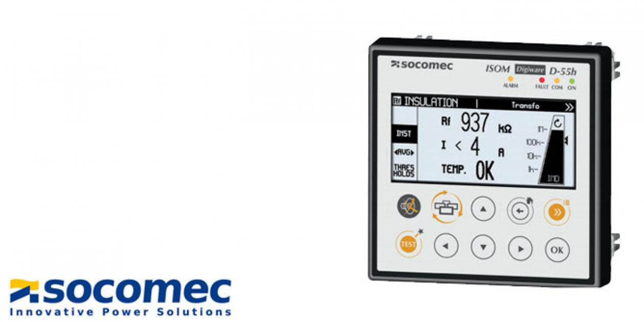 Socomec – ISOM Digiware D-55h