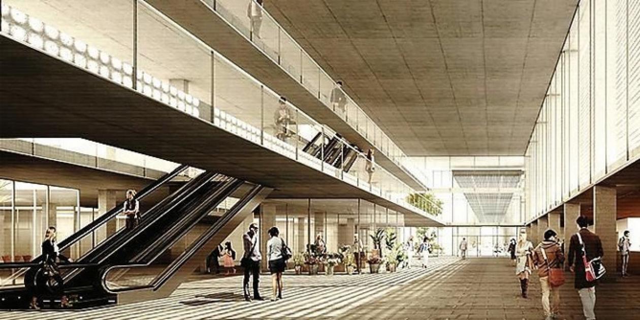 """El proyecto """"Entre Plazas"""" gana el concurso del nuevo hospital Joan XXIII"""
