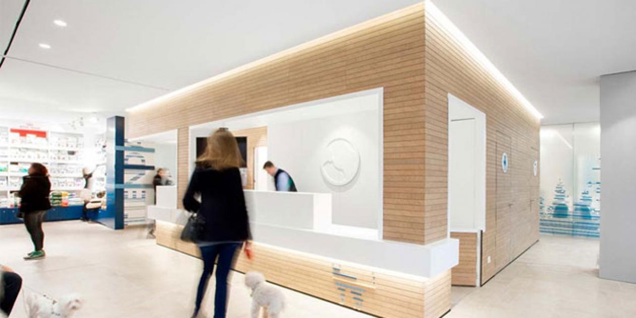 El Hospital Veterinario Constitución incorpora KRION a su diseño