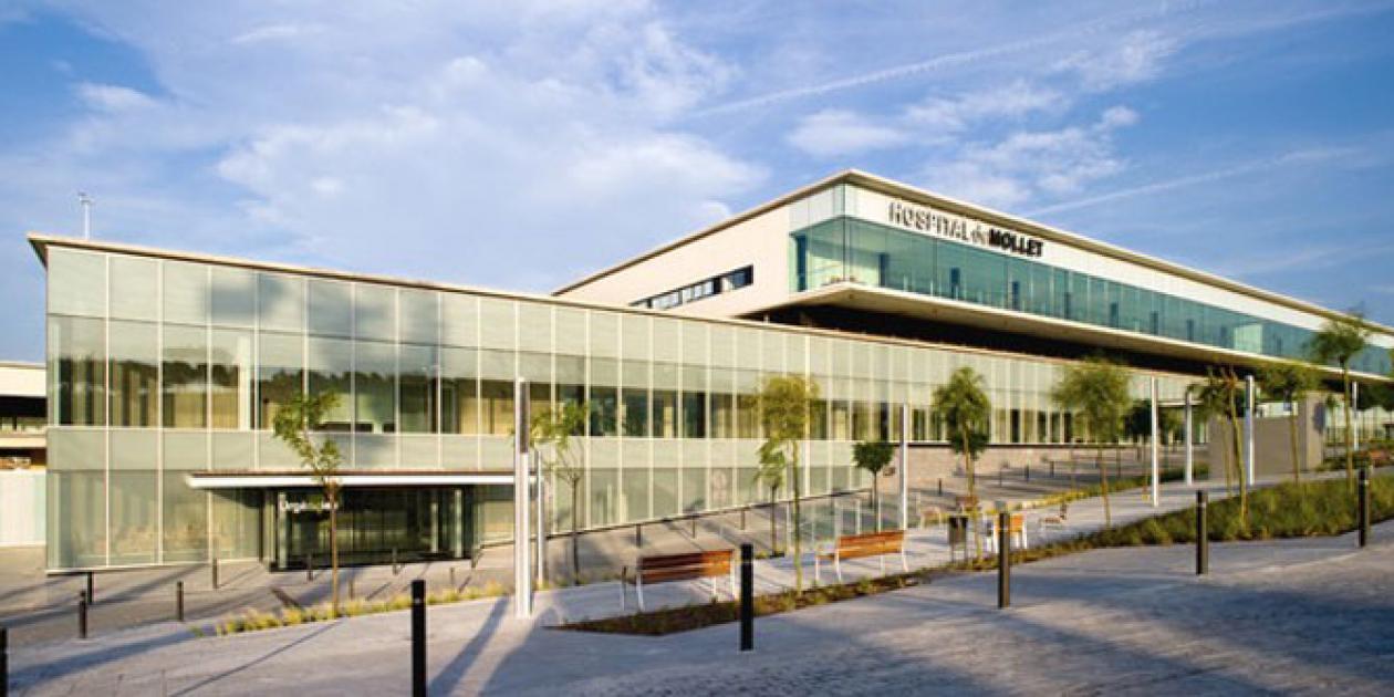 Elementos de sostenibilidad en el Hospital de Mollet