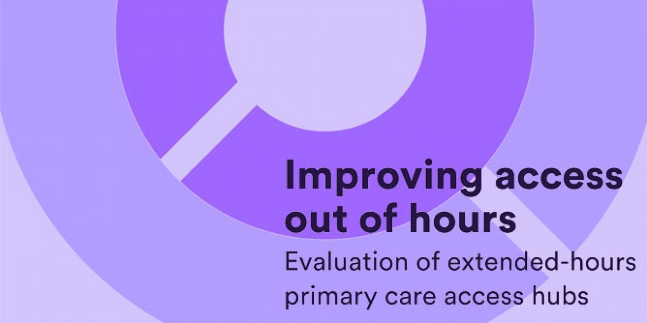 Mejora del acceso a la atención primaria fuera de horas centrales