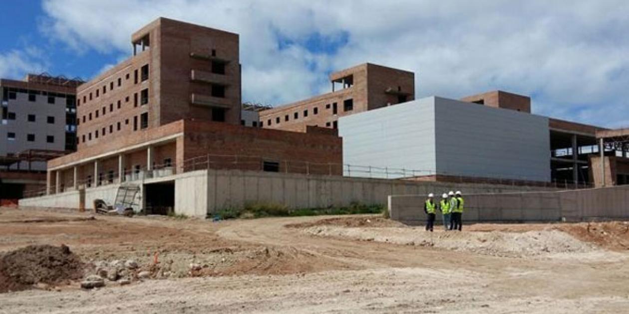 Terminación de las obras de construcción del Nuevo Hospital en Melilla