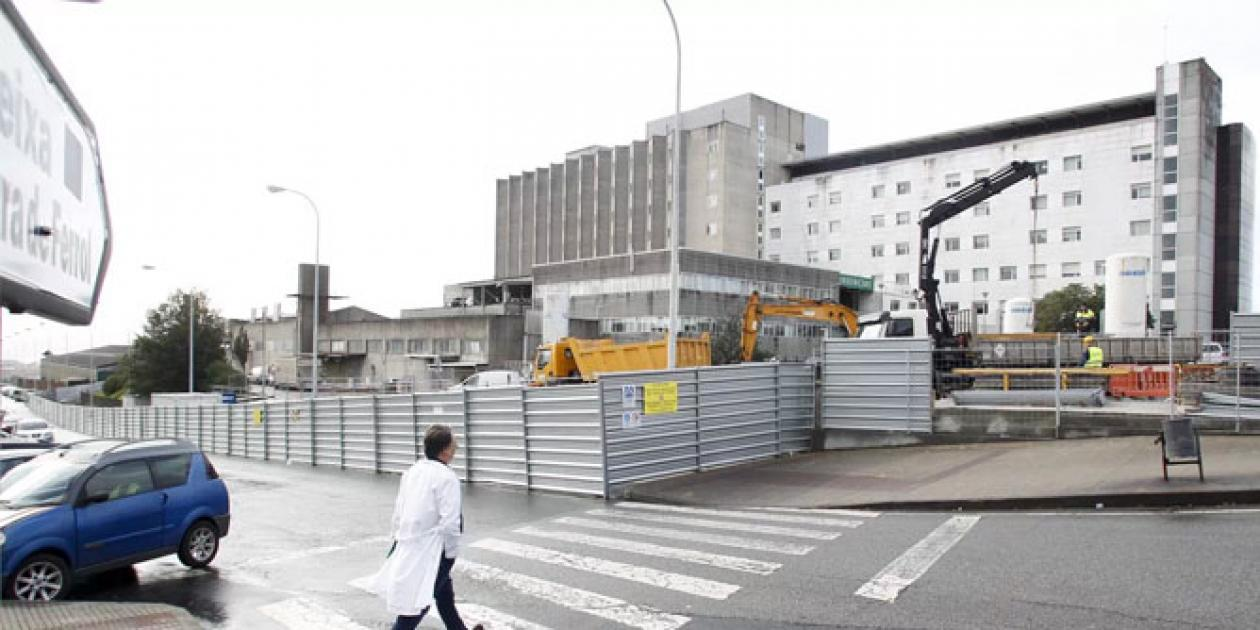 El Plan Director del CHUF comienza con la obra del primer hospital de día y la farmacia
