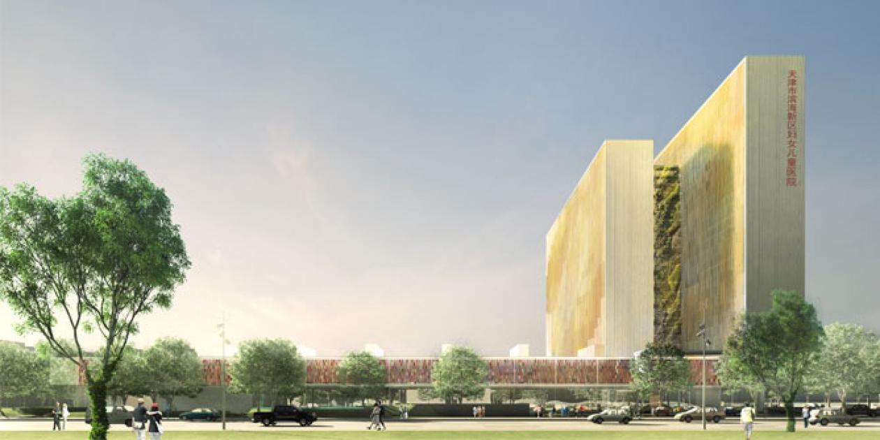 PINEARQ diseña el nuevo Hospital en la Eco-City China de Tianjin