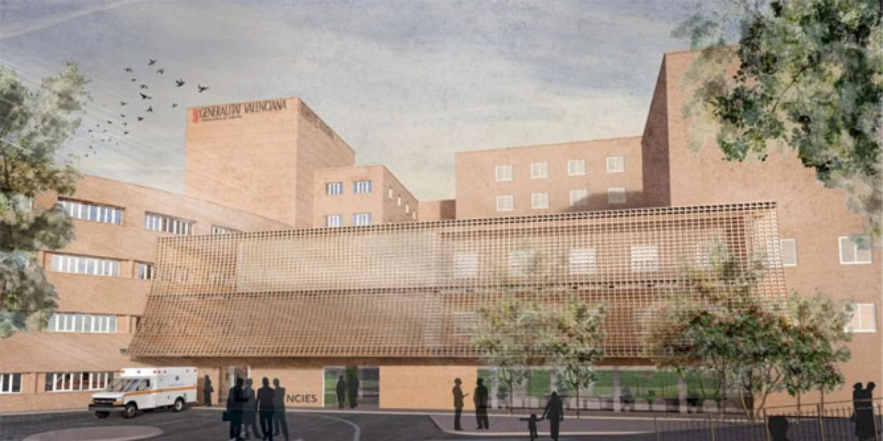 Así será el nuevo servicio de Urgencias del Hospital General de Castellón