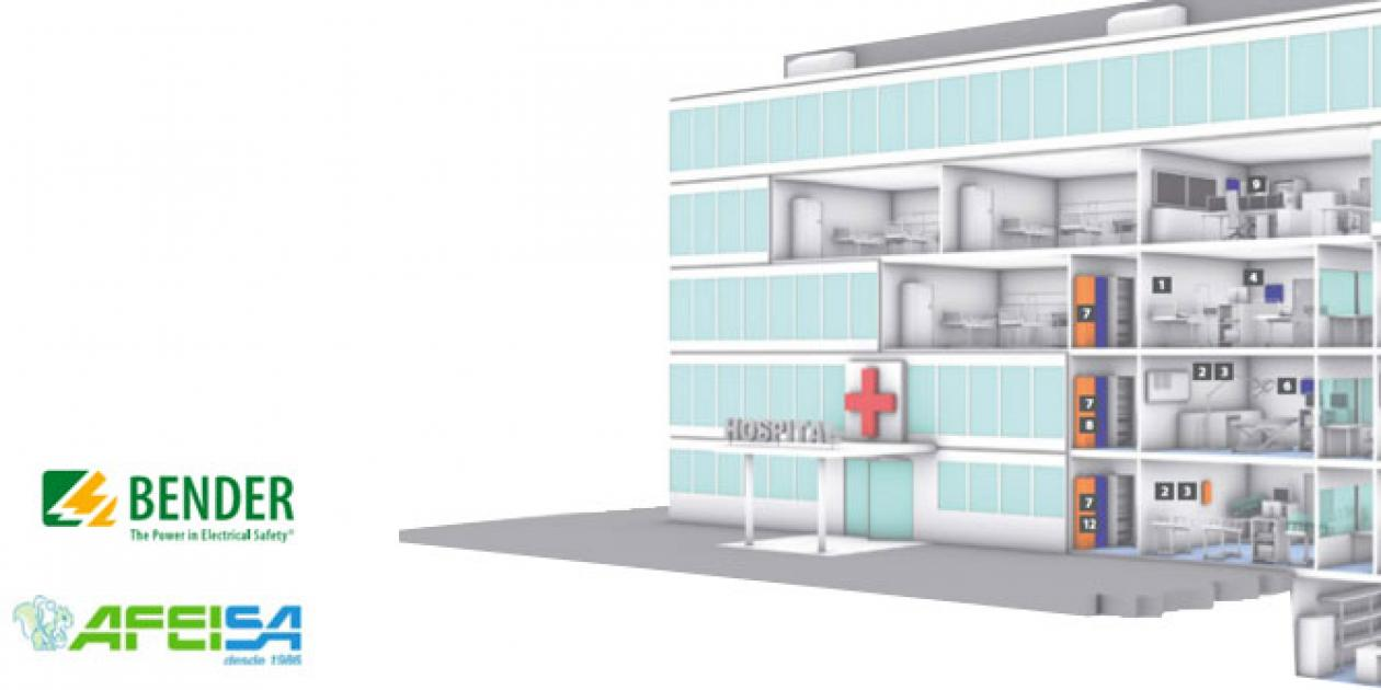 AFEISA - Soluciones integradas para la seguridad eléctrica en instalaciones médicas