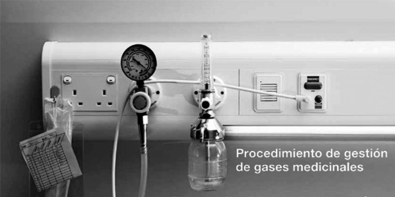 Procedimiento de gestión de gases medicinales