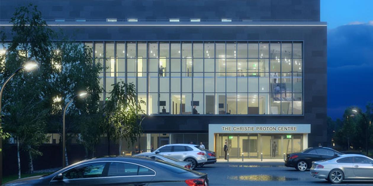 Nombrado edificio del año el Christie Proton Beam Therapy Centre
