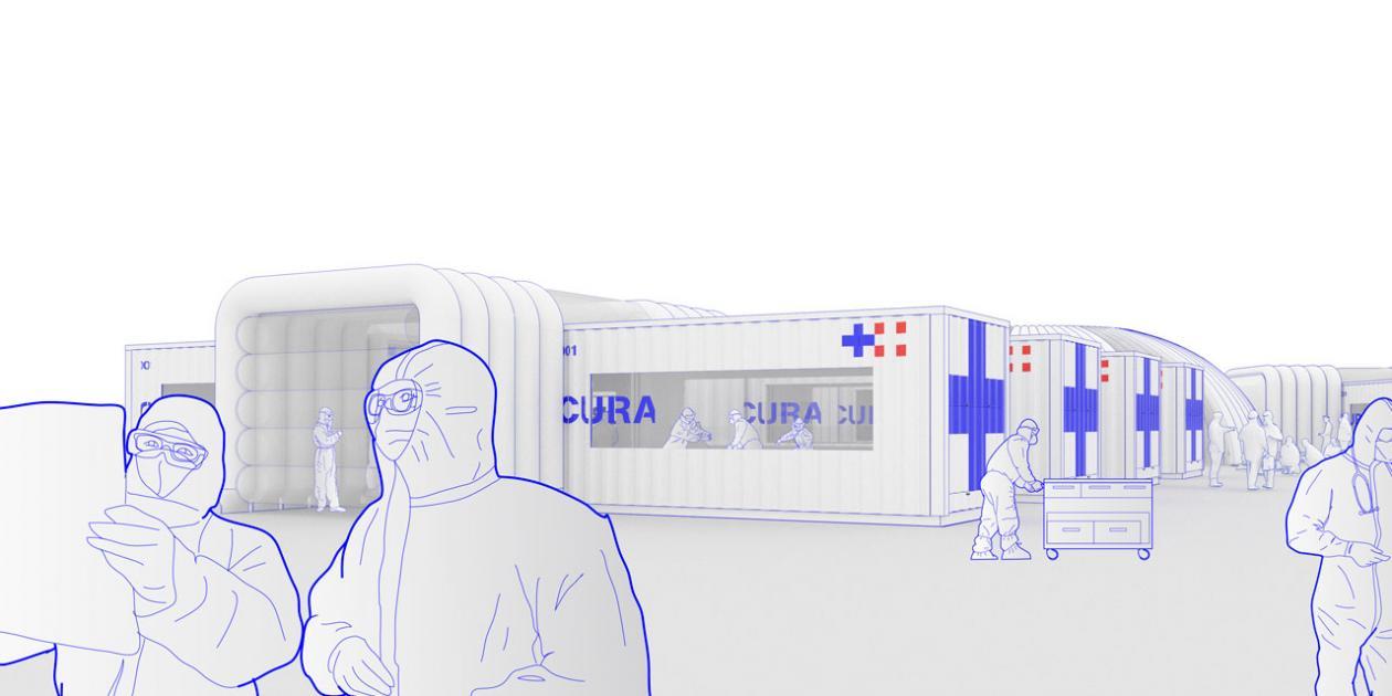 CURA: Diseño de código abierto para hospitales de emergencia COVID-19