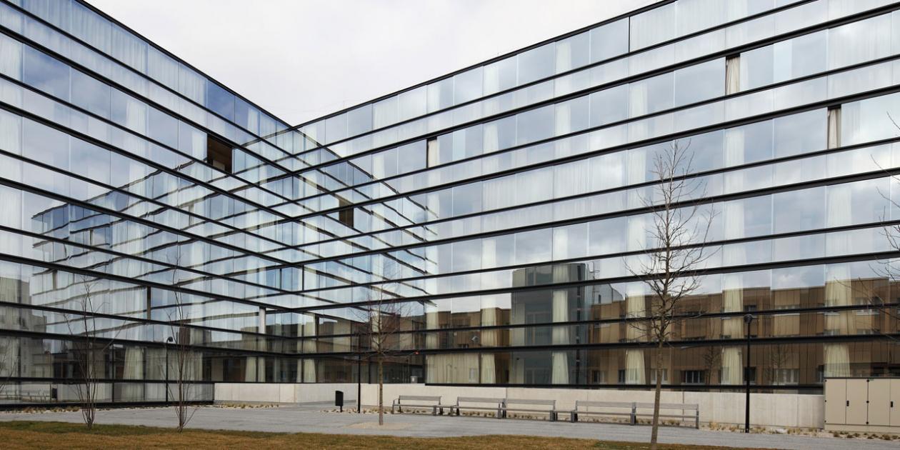 Centro geriátrico en Donaustadt