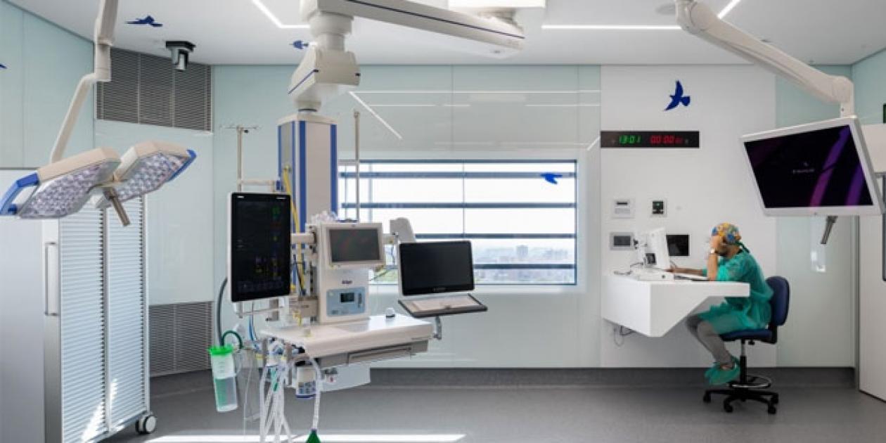 Tecnología de vanguardia en el nuevo bloque quirúrgico del Hospital Sant Joan de Déu
