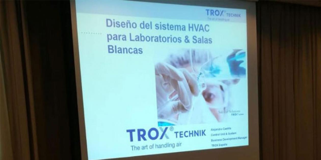 SURIS participa en una sesión formativa de diseño del sistema HVAC para laboratorios y salas