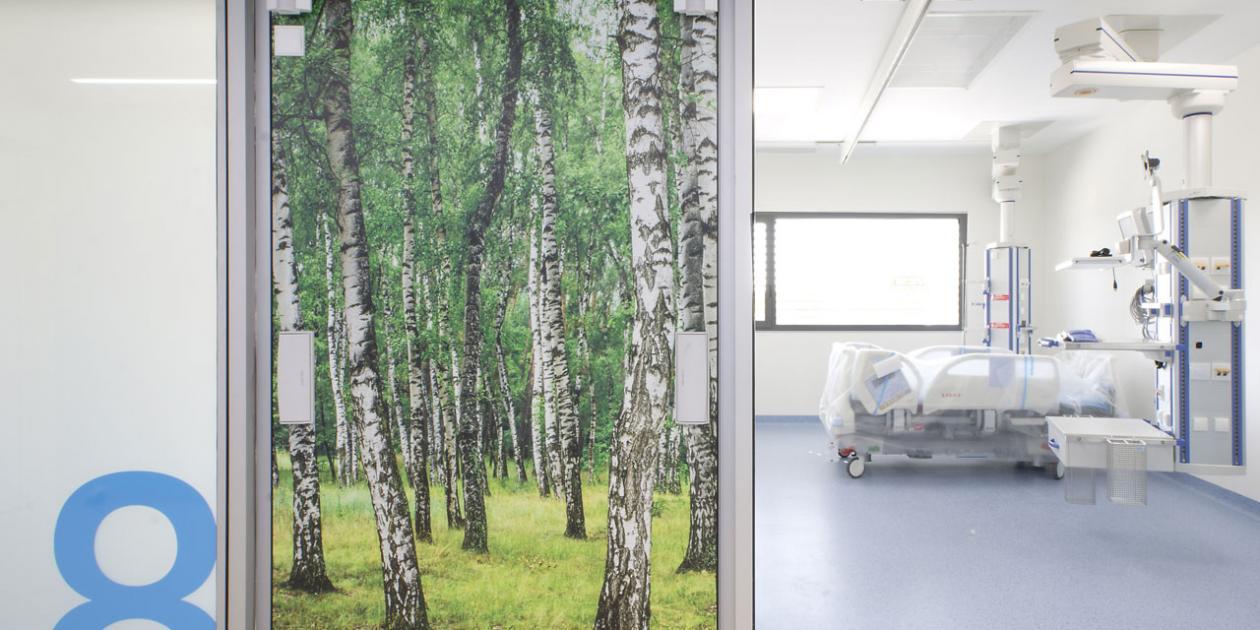 Unidad de Cuidados Intensivos del Hospital Santa Caterina