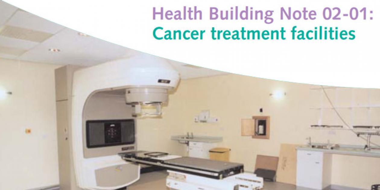 Guía edificios sanitarios: instalaciones para el tratamiento del cáncer