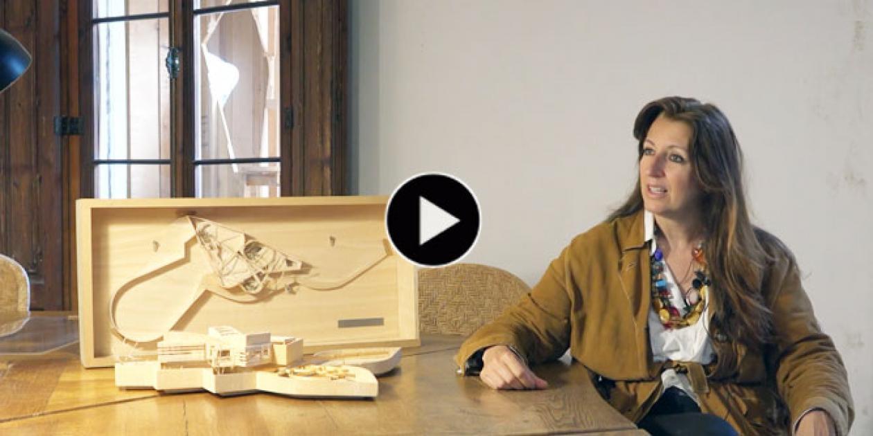 Benedetta Tagliabue explica el proyecto kālida Sant Pau