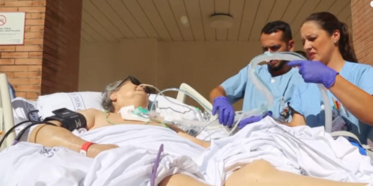 'Paseos que curan', una inyección de vida para pacientes en la UCI