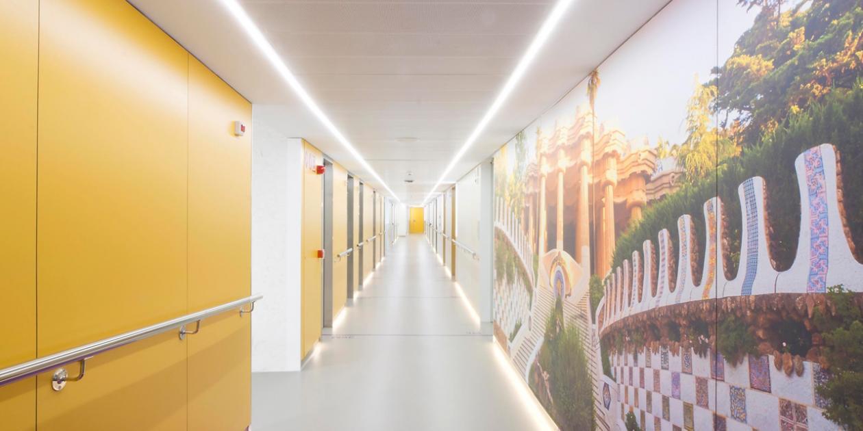 Reforma de la unidad de hospitalización de traumatología del Hospital Clínic