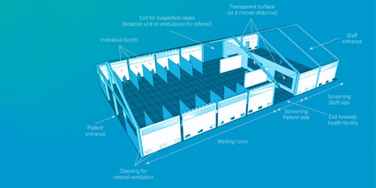 Centro de tratamiento de infecciones respiratorias agudas