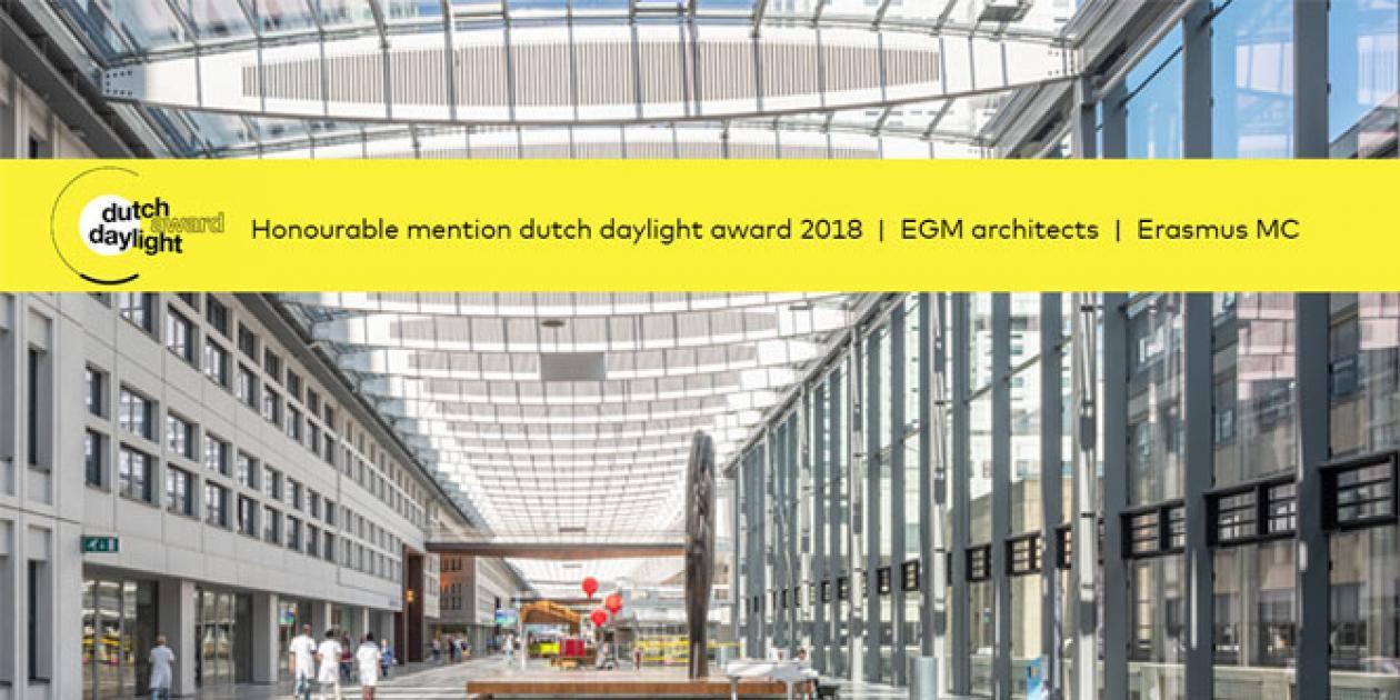EGM y Erasmus MC reciben el premio a la luz del día