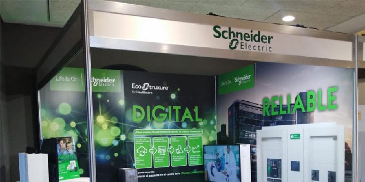 Schneider Electric presentó sus soluciones para el hospital digital en el 37º Seminario de Ingeniería Hospitalaria