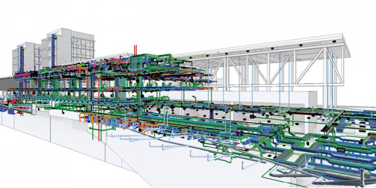 Integración de datos BIM-IoT en el Hospital del Mar