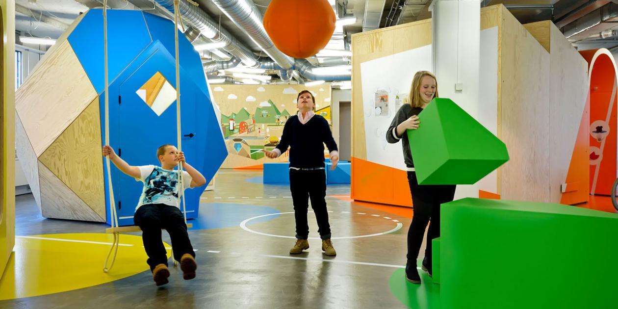 Centro interactivo y lúdico para adolescentes y niños con sobrepeso en Maastricht
