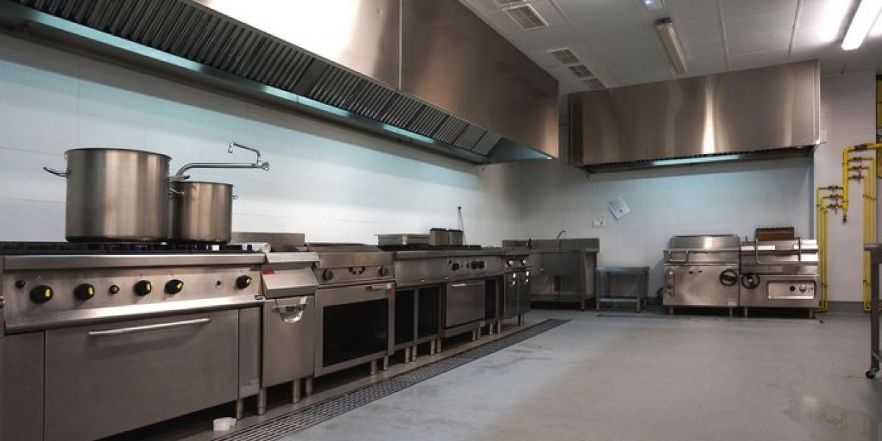 Nueva cocina del Hospital de Poniente