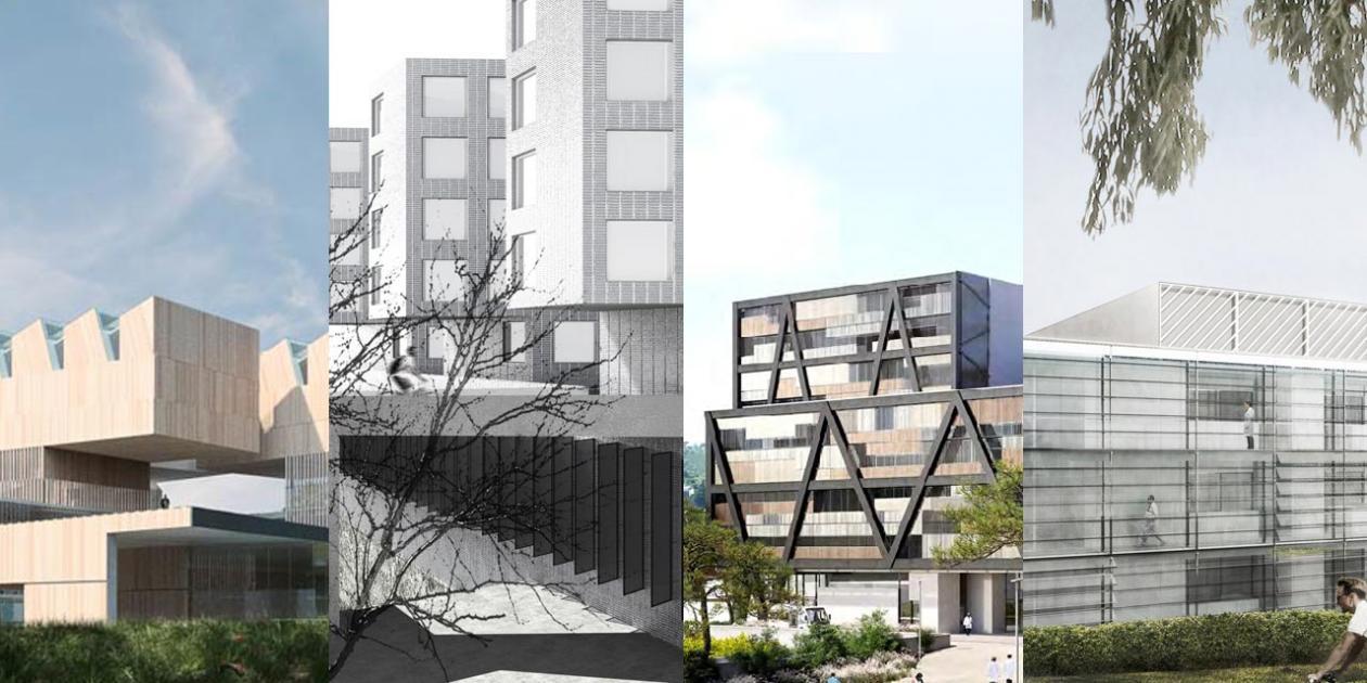 Propuestas finalistas del concurso para el nuevo edificio VHIR